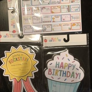 Target/BP Reward certificates (bday, ribbon, misc)